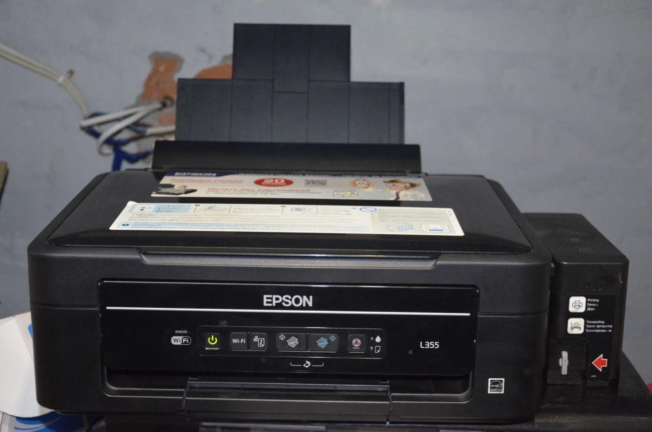 МФУ Epson L355 + WI-FI