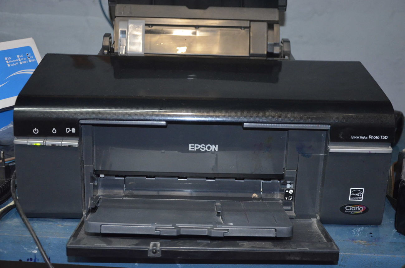 Принтер Epson Stylus Photo T50 + СНПЧ