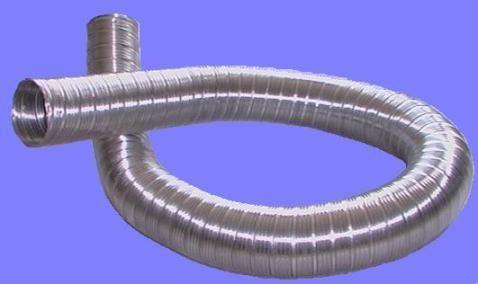 Труби гофровані алюмінієві та з нержавіючої сталі