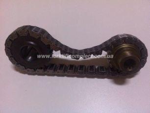 Шестерни и цепь привода гидравлического насоса погрузчика к-т Toyota