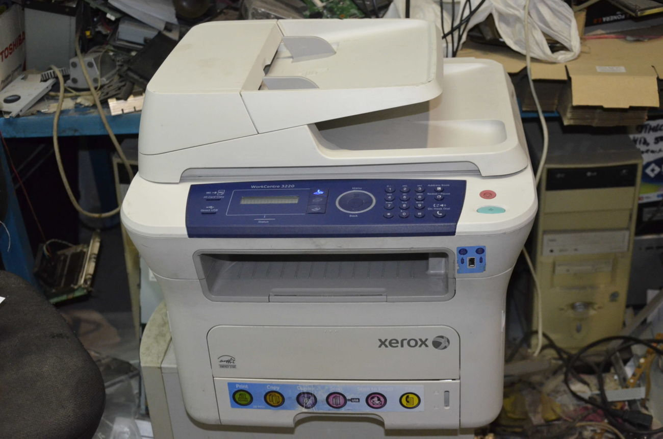 МФУ Xerox WorkCentre 3220DN лазерное