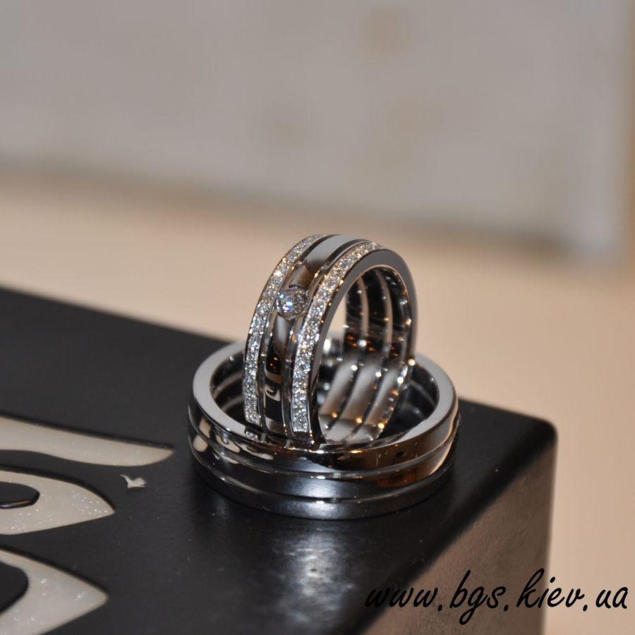 0ea961470d9f Обручальные кольца из белого золота  500   - Ювелирные изделия ...