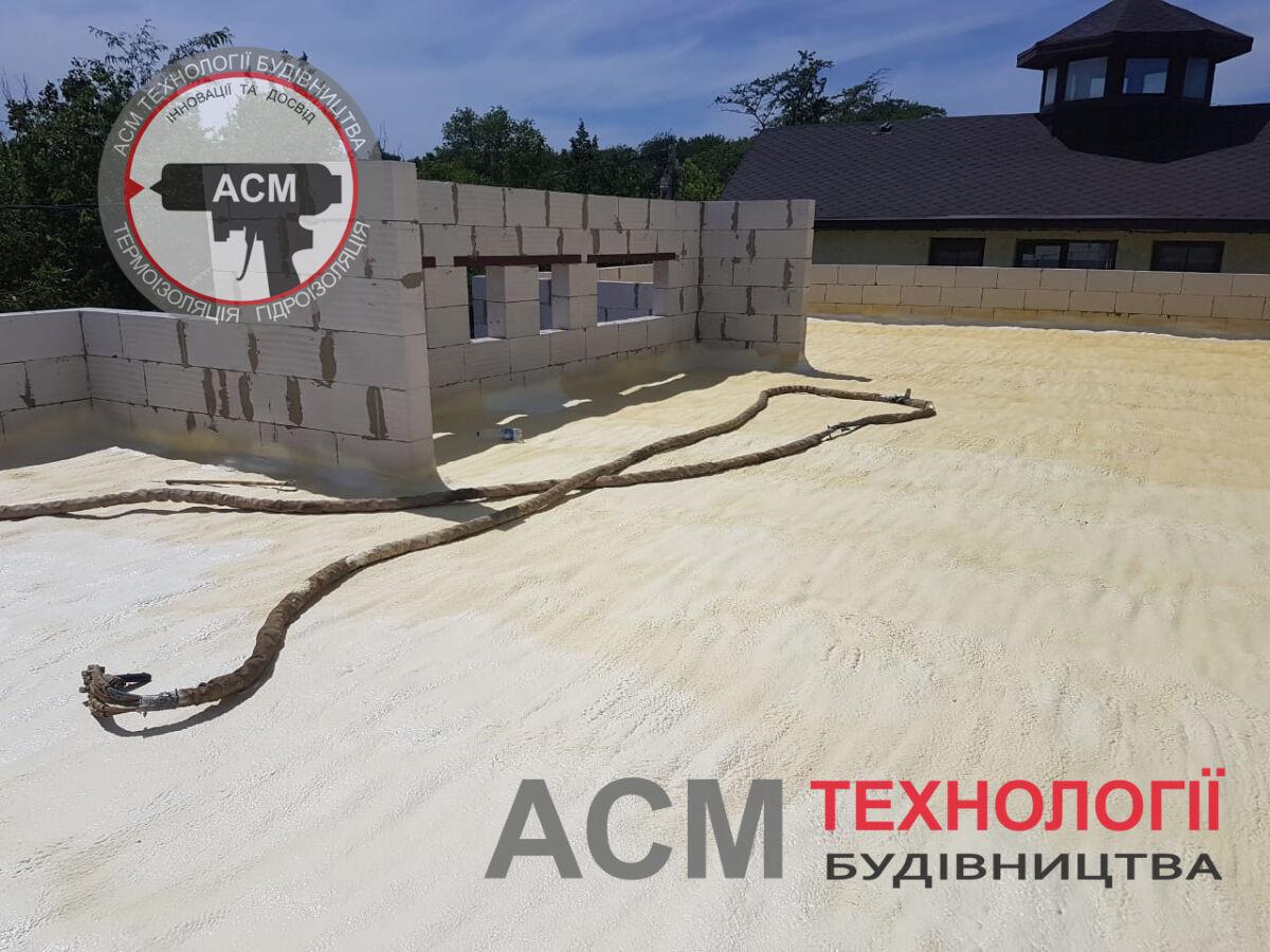 Оперативное утепление пенополиуретаном (ППУ) домов, крыш, теплиц