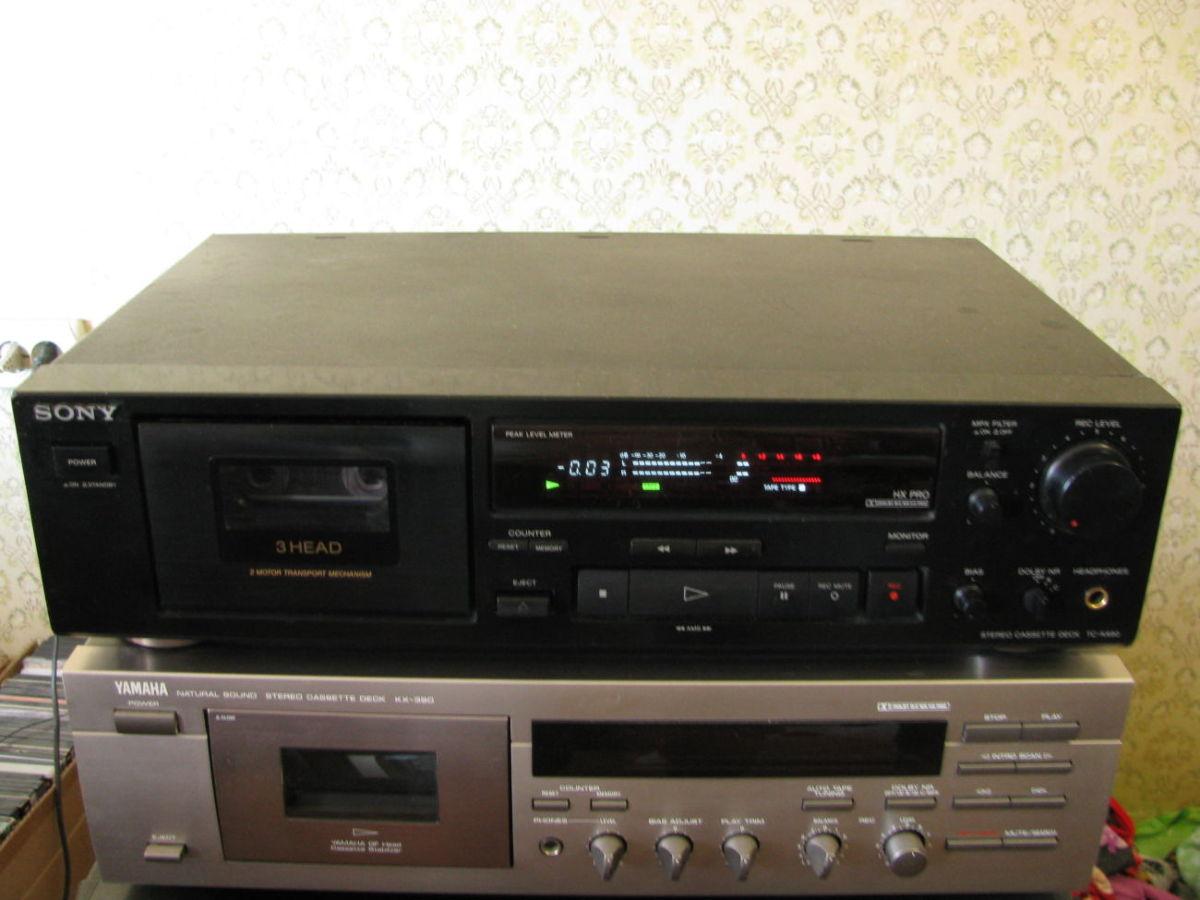 Кассетный магнитофон Sony TC-K490 (3 Head)