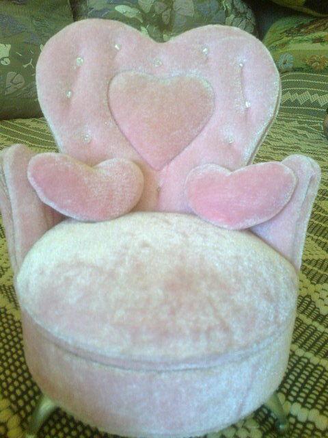 Детская шкатулка-кресло для бижутерии