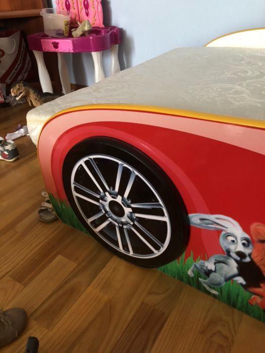 Дитяче ліжко-машинка «Маша і ведмідь» + ортопедичний матра  3 500 ... 0fcb842ce0085