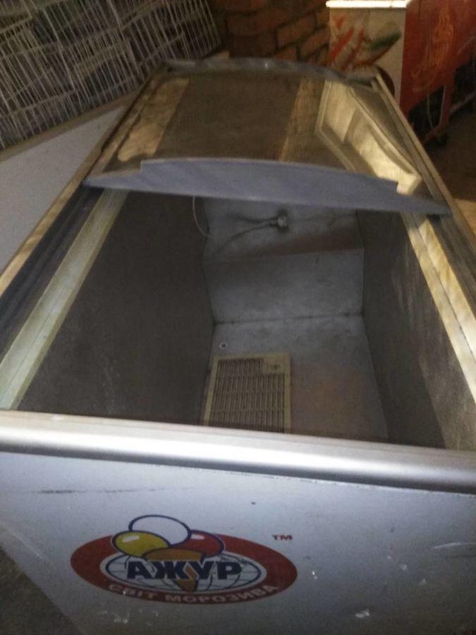 Морозильная камера ларь до 500л с гнутым стеклом бу с доставкой!Ковель