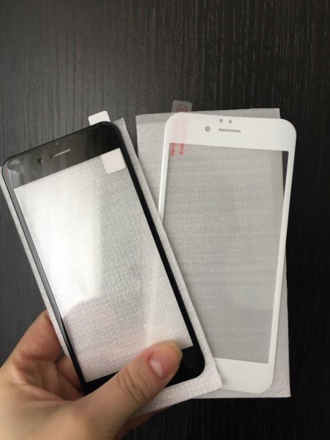 Защитное 3d стекло на Iphone 8 для айфон