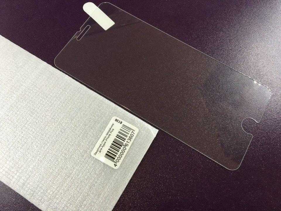 Защитное стекло на Айфон 6 Plus 6S Plus + для iPhone