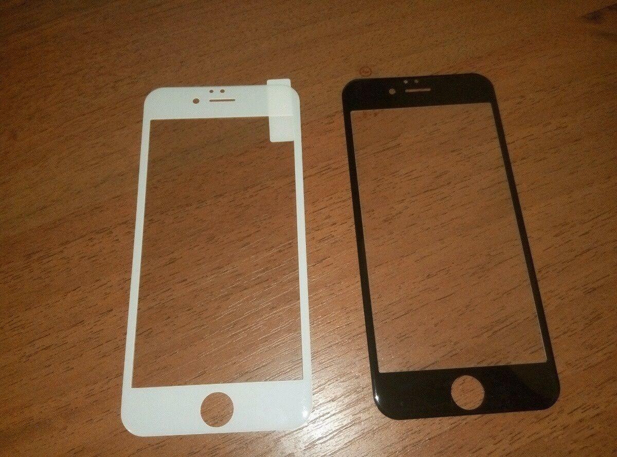 Защитное 3D стекло на iPhone 8 Plus + для Айфон