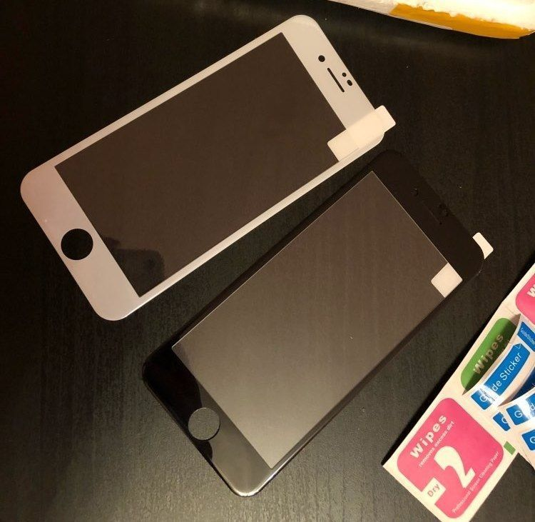 Защитное стекло 3d на Iphone 6 6s 6+ 7 7+ 8 8 Plus X для айфон
