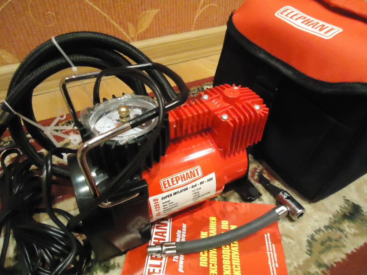 Автомобильный компрессор Elephant КА-12510