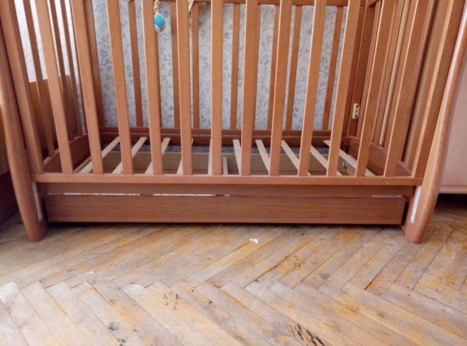 Срочно,Детская итальянская кроватка Ruggeri 125*65 4