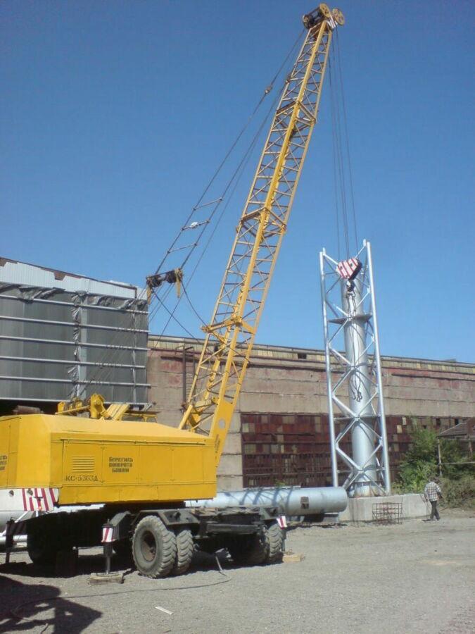 Кран в аренду кс - 5363д г/подъем 36 тонн, любые стрелы до 32 м.
