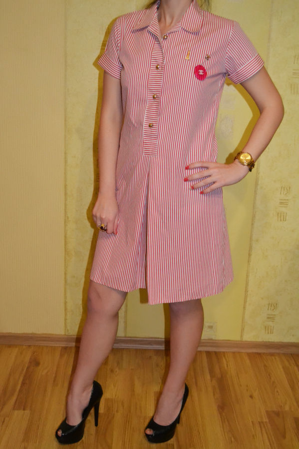52bc85f52ce Платье в халатном стиле Chanel Шанель  1 000 грн. - Платья