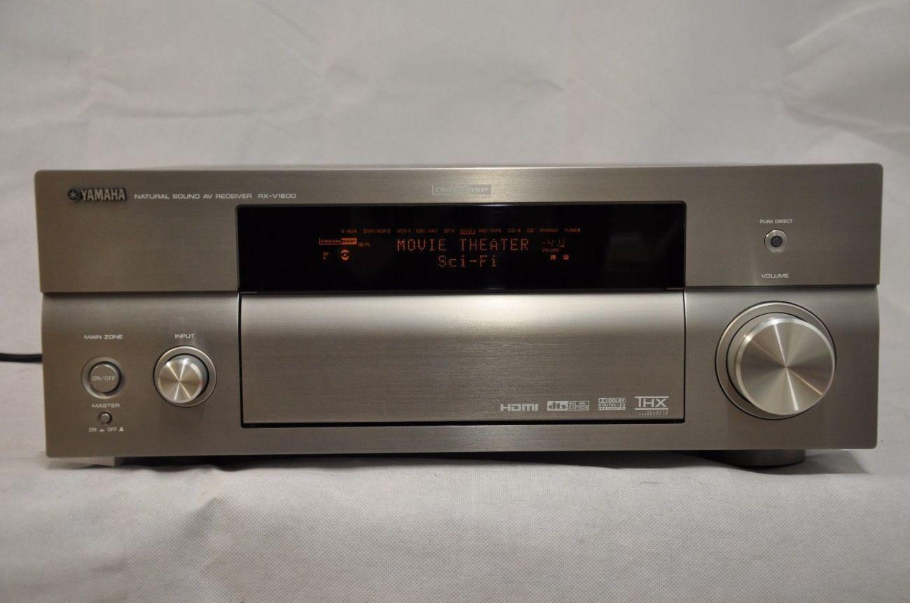 Yamaha RX-V1600 RDS,7,1,HDMI-интерфейсы!THX,THX-EX,ТHX Select2