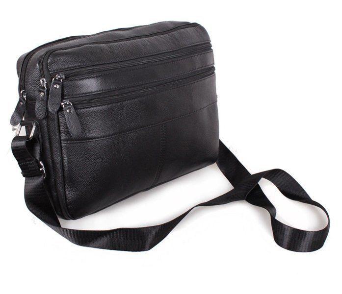 351178c7f213 Галерея Мужская кожаная сумка A4 Dovhani Bon3923-1 Черная: 1 390 грн ...