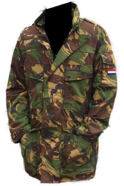 Куртка армии Голландии трёхслойная (Мех+Гортекс)опт