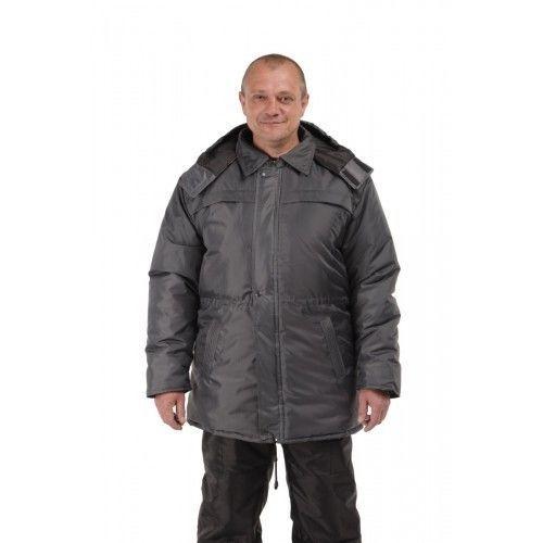 Куртка рабочая утепленная темно-серая