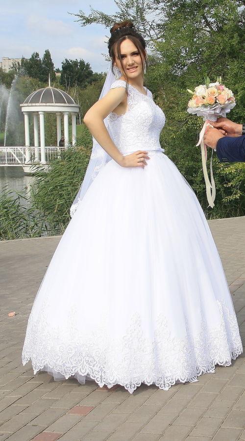 84c0dbb069bf455 Продам очень красивое свадебное платье в отличном состоянии: 5 000 ...