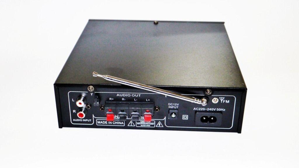Усилитель UKC SN-003BT - Bluetooth, USB,SD,FM,MP3! 300W+300W Караоке 2