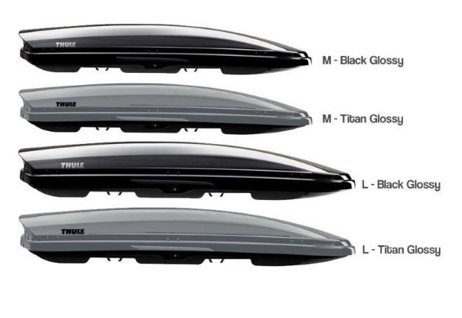 Wonderbaar Б.у Бокс Thule Motion 600 black Sport багажник не 780 800 M ОБМЕН UP-03