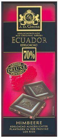 Немецкий шоколад J. D. Gross 125г