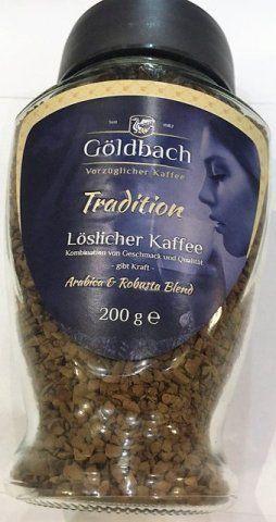 Растворимый кофе Goldbach Tradition 200г