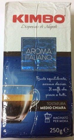 Кофе Kimbo Aroma Italiano 250г