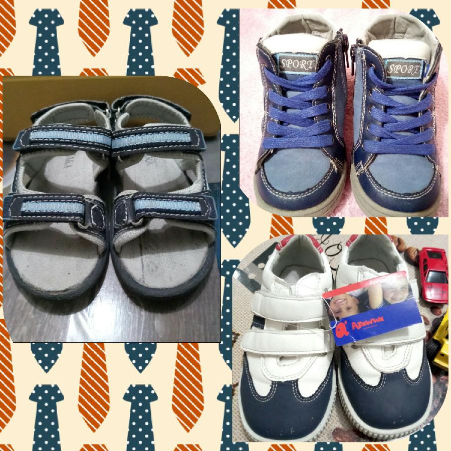 44ec02696 2 пары: ботинки, босоножки для мальчика р-ры 23-24: 400 грн. - Для ...