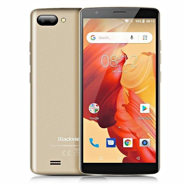 Оригинальный смартфон Blackview A20 2 сим,5,5 дюй,4 яд,8 Гб,5 Мп,3000