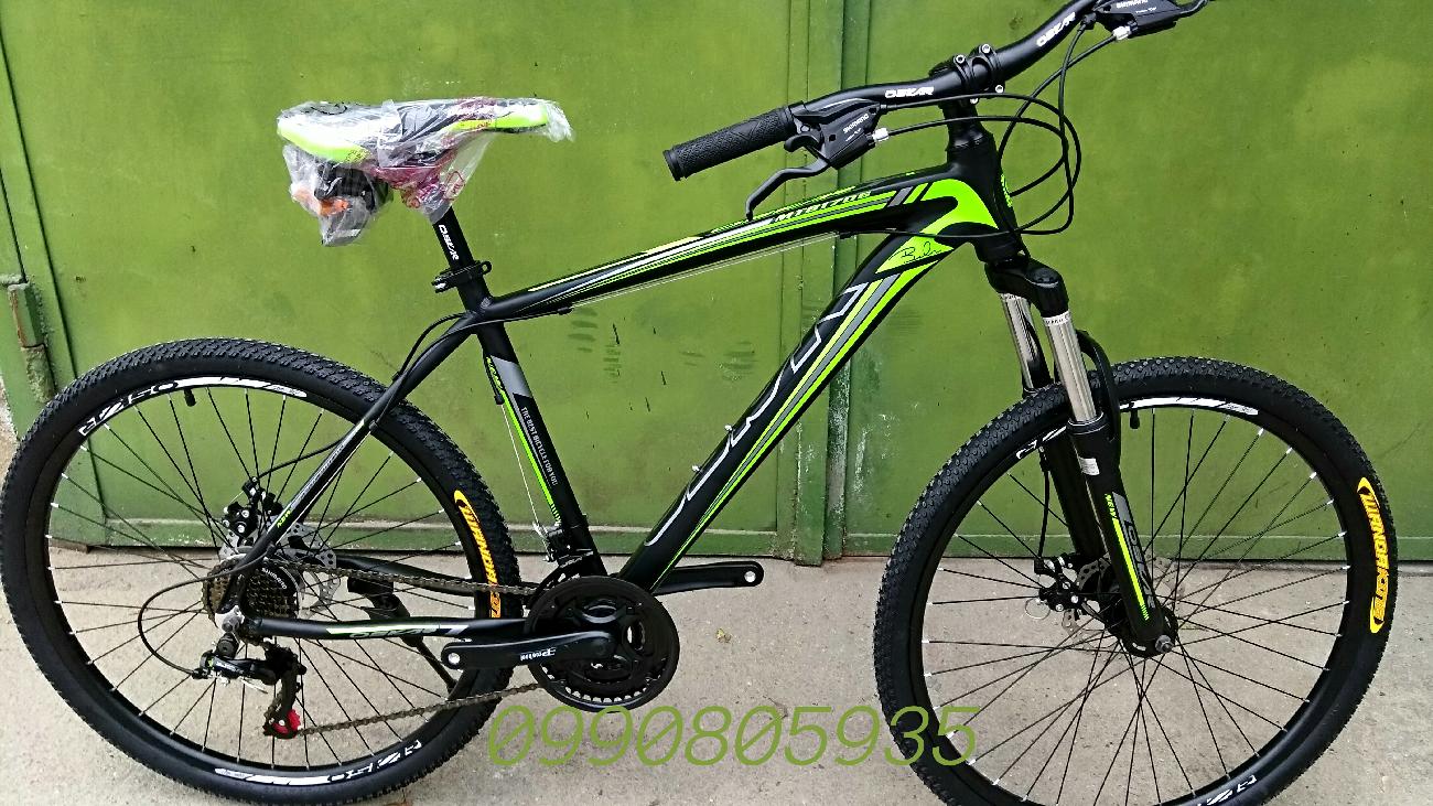 Новый алюминиевый велосипед Oskar 1706 колёса 26