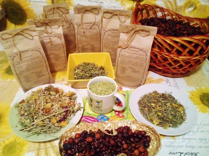 Травяной сбор, сборы лекарственных трав - многокомпонентные