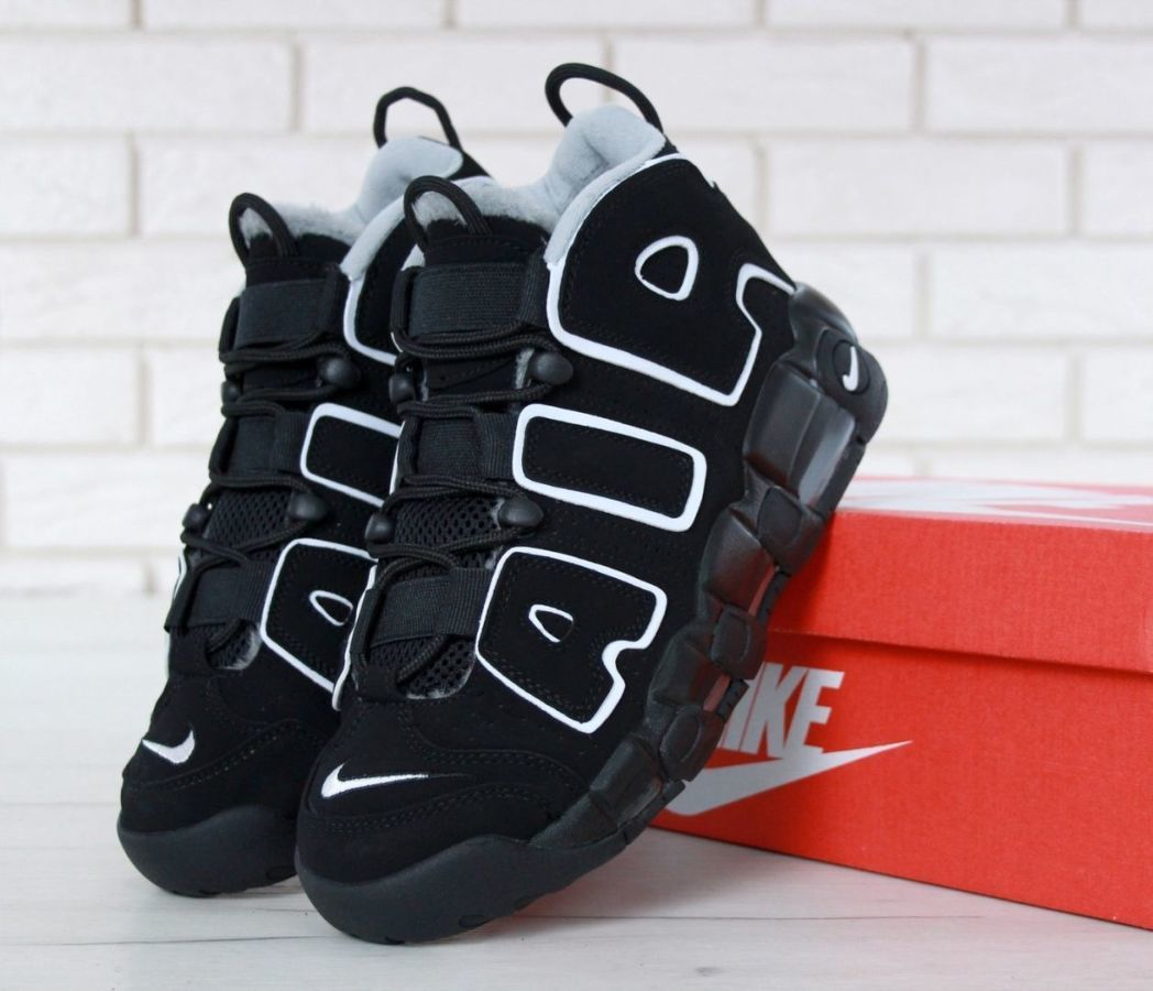 4cc730c5 Кроссовки Nike Air More Uptempo WINTER (На Меху): 1 780 грн ...
