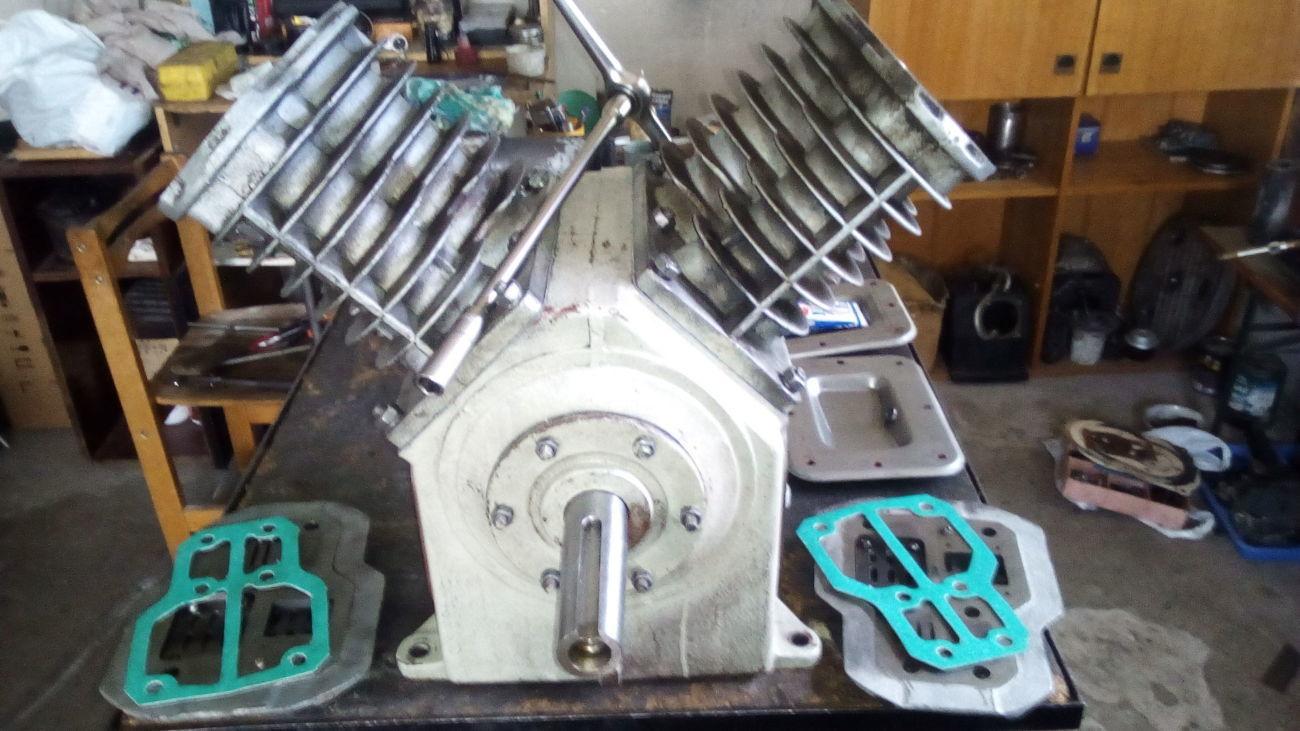 Ремонт компрессоров С415;С416М.Бежецкий компрессор.