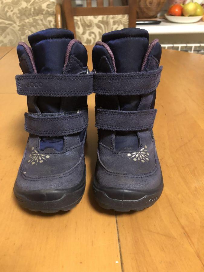 12abcabf20f3c8 Детские ботинки Ecco 25 размер: 1 500 грн. - Для дівчаток Київ - оголошення  на Бесплатка 52624645 Архів