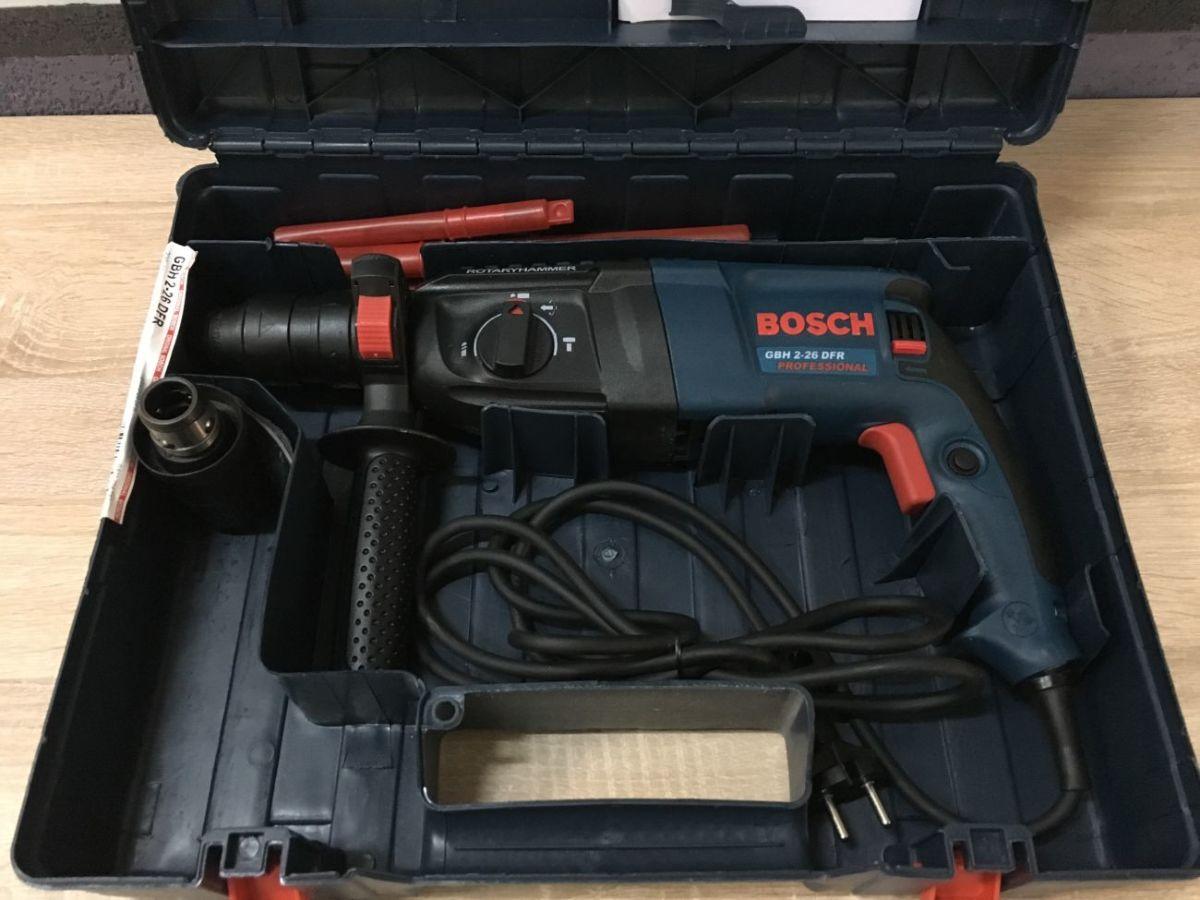 Перфоратор Bosch GBH 2-26 DRE с доп.патроном.ГАРАНТИЯ Румынская сборка