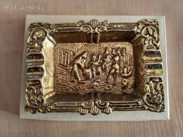 """Пепельница из бронзы бронза """"Virtus 1945"""" Испания"""