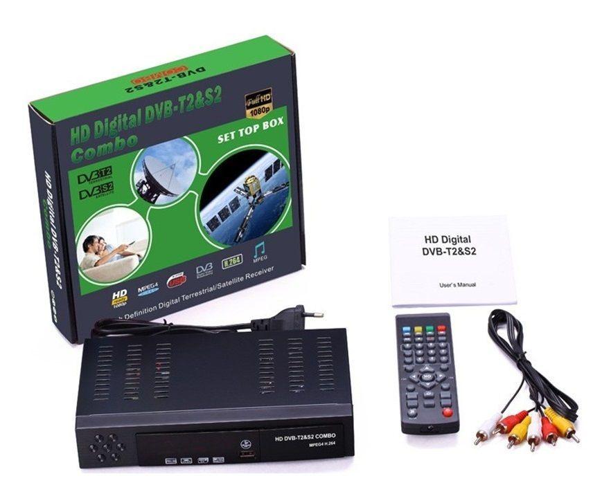 Телевизионный тюнер DVB-T2 S2 Combo