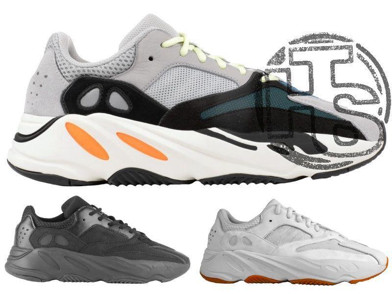 a66d94aa88f6a2 Мужские кроссовки Adidas Yeezy Boost 700 Wave. Хайповая модель 3 цвета