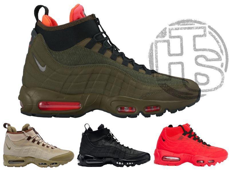 7a6f50a3 Зимние кроссовки Nike Air Max 95 Sneakerboot. Мужские и женские! 1 из 8