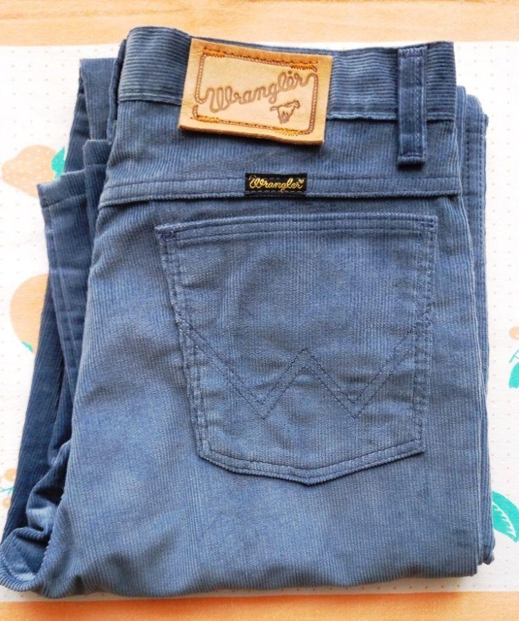 071cedb0db2 Настоящие винтажные американские джинсы WRANGLER Вельвет W32xL36 ...