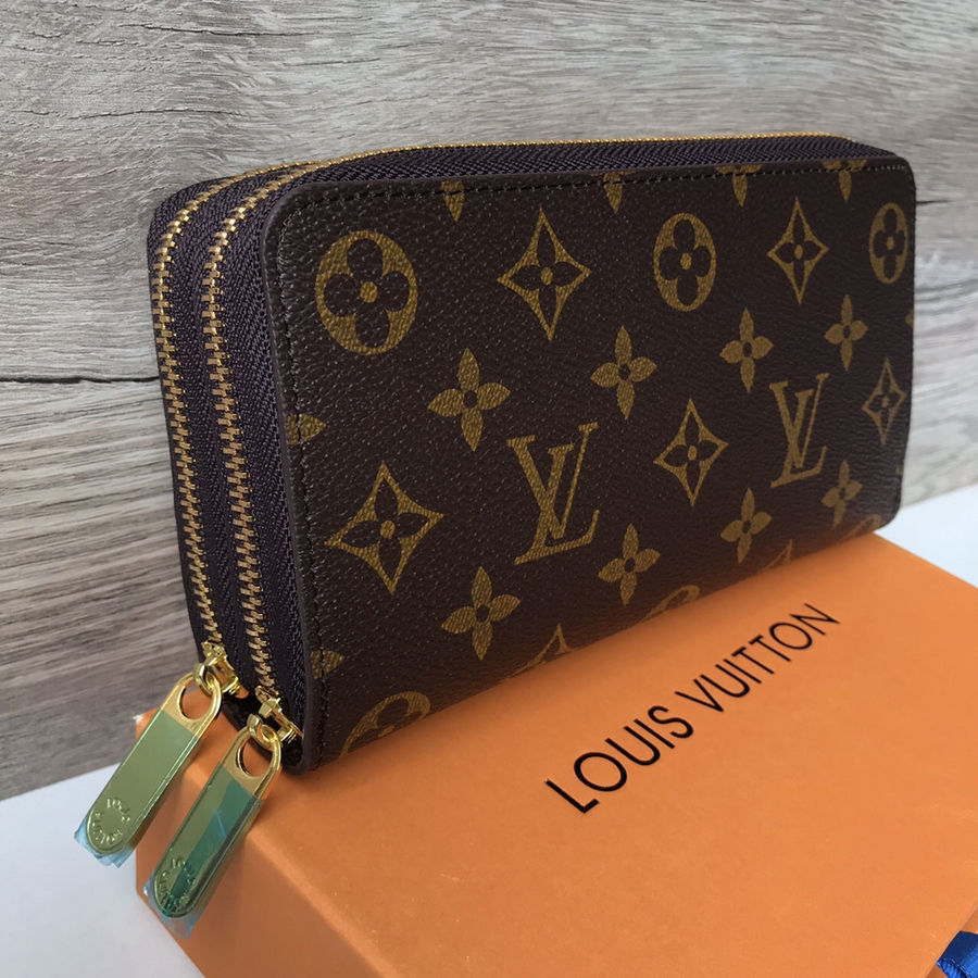 798b4856ef5e Купить сейчас - Женский кошелёк Louis Vuitton LV лв клатч портмоне ...
