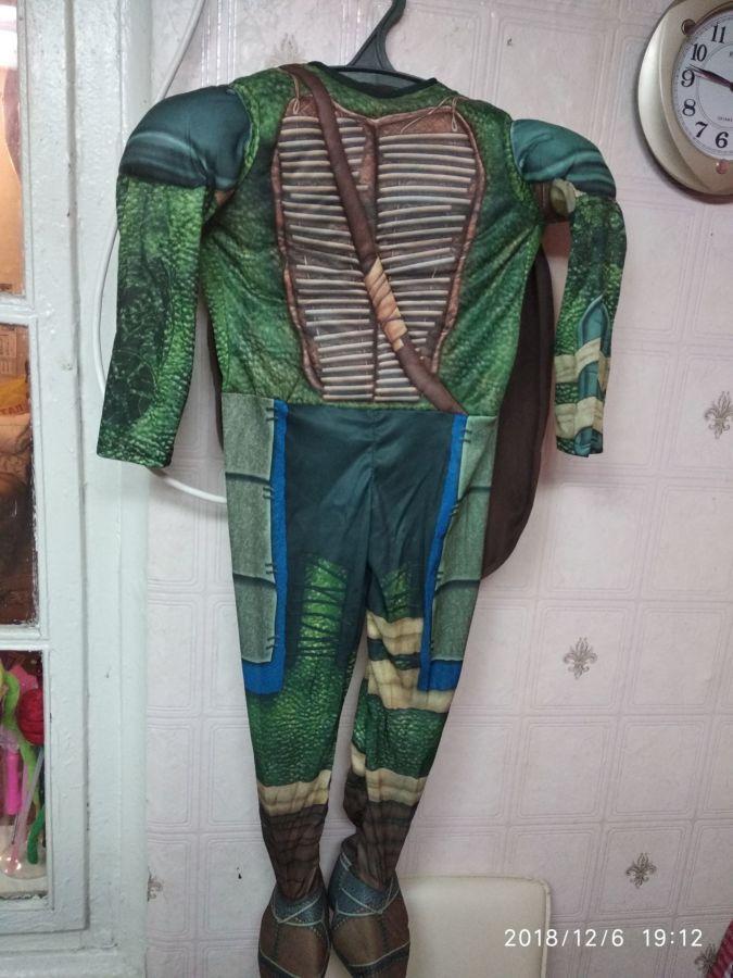 Продам костюм черепашки ниндзя 104-116 см рост