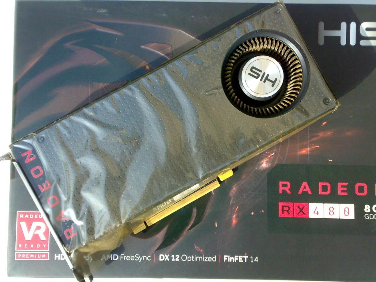 Видеокарта HIS RADEON RX 480 8GB REF