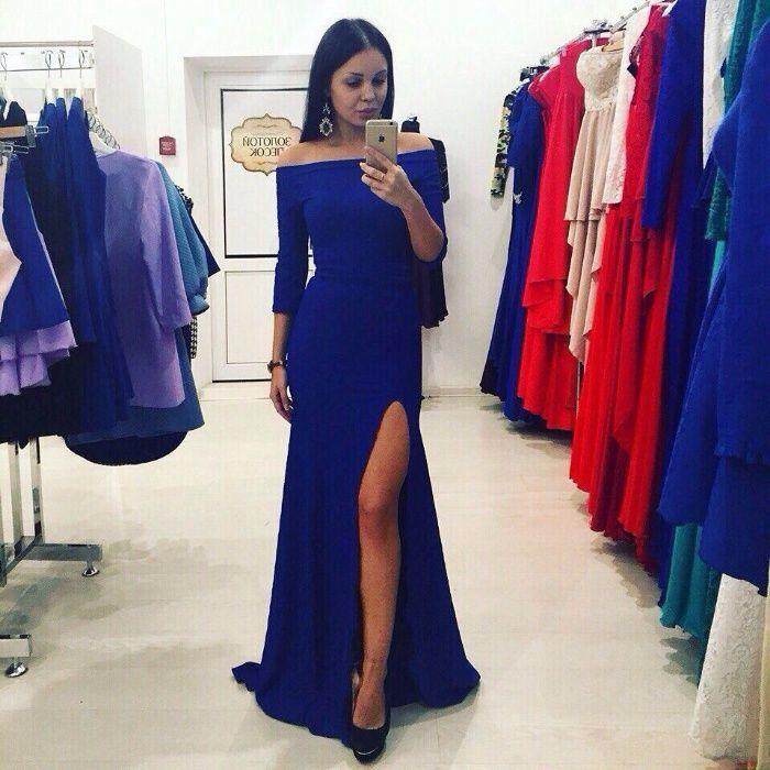 d0587469d92 Нарядное вечернее длинное платье макси в пол красное синее черное ...