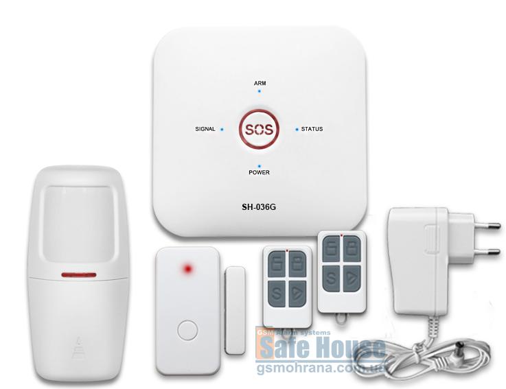 GSM сигнализация SH-036G