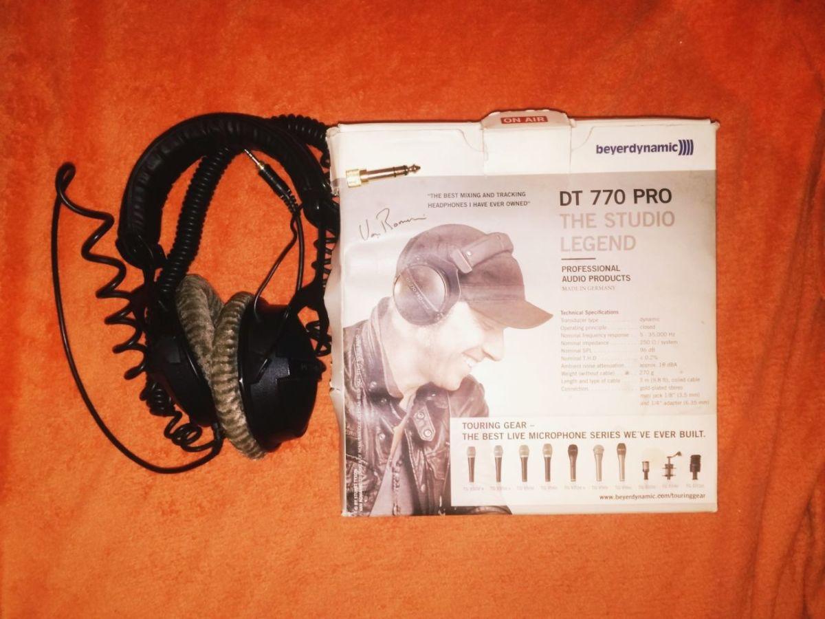 Продам наушники Beyerdynamic DT 770 Pro 250Om