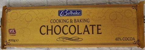 Шоколад для выпечки Belbake 400г
