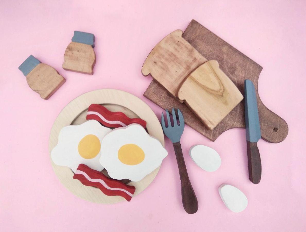 Деревянная игрушка Завтрак
